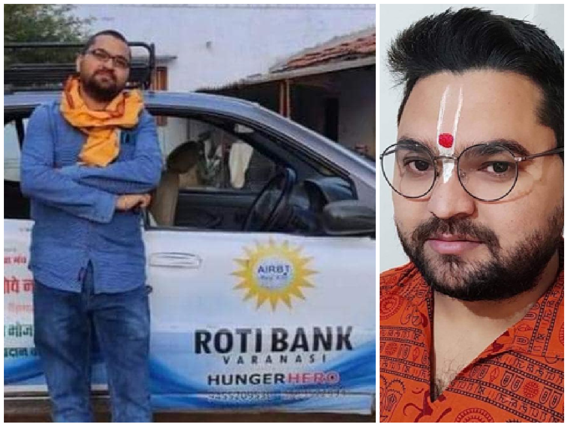 Kishore Kant Tiwari: The founder of Roti Bank who feeds hungry & Poor left Us with Giving tears in eyes